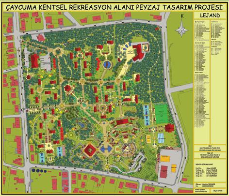 - Çaycuma Kültür Merkezi ve Rekreasyon Alanı Peyzaj Düzenleme Projesi 1. Liği