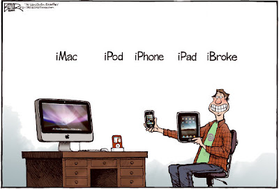 imac ipod iphone ipad ibroke nate beeler living the ilife Arti huruf i di produk Apple