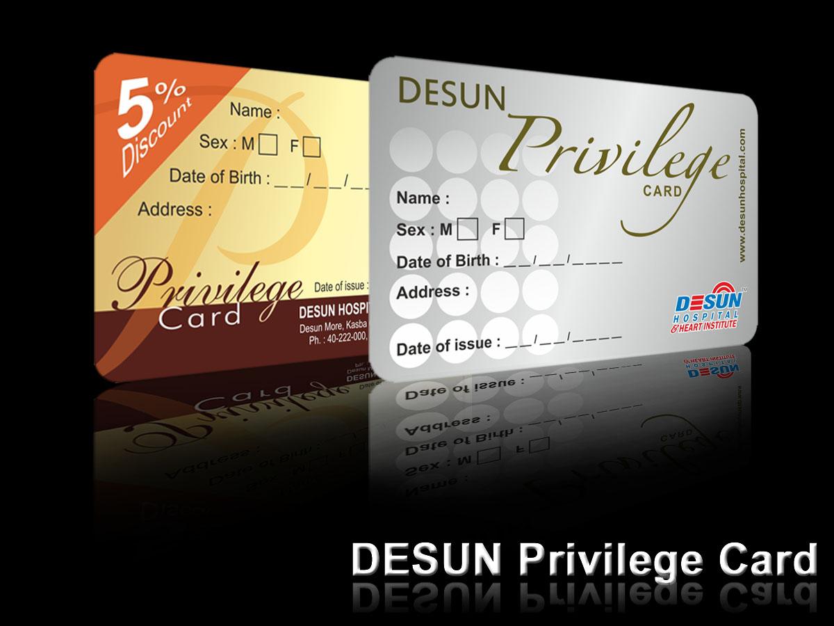 Santosh Creativity Desun Privilege Card