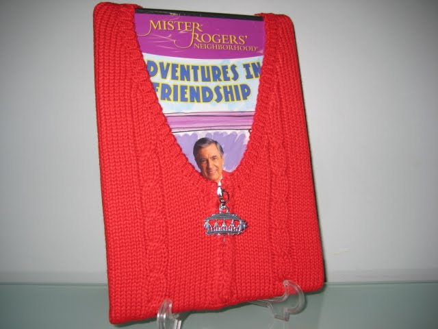 mister rogers DVD package sweater