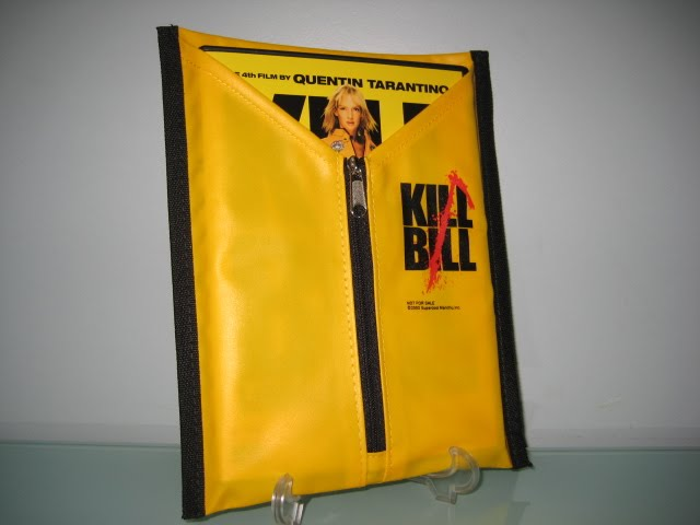 kill bill suit DVD Packaging
