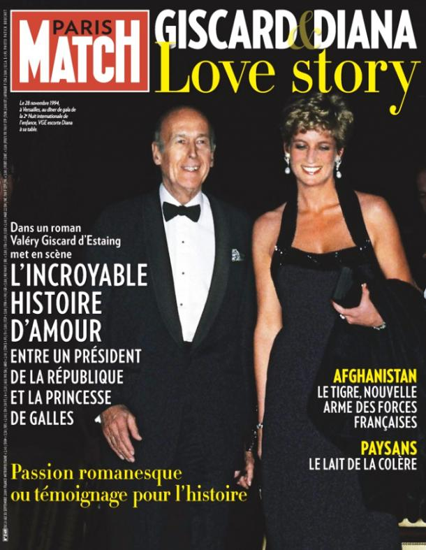 VGE et Lady Di Paris Match