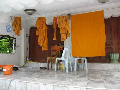 Thai Buddhist Monk Robes