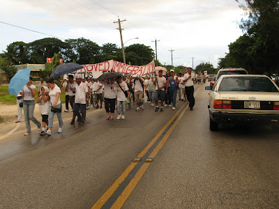 Saipan March Participants