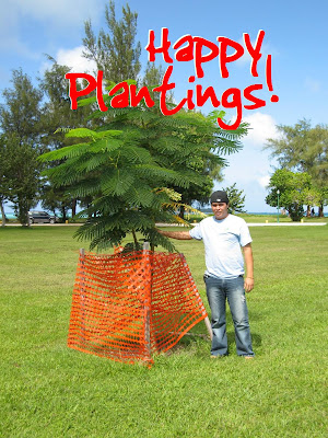 Happy Plantings Angelo Villagomez Saipan