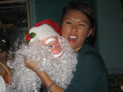 EJ Lee and Santa Clause