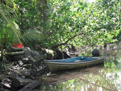 Nan Madol Fishing boat
