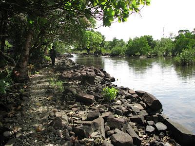 Nan Madol path