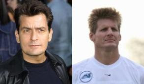 Bruce Berline and Charlie Sheen