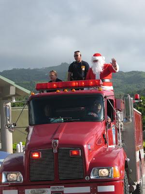 Saipan Santa Claus