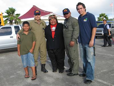 Capt. Pete Leon Guerrero and Sgt. Jack Salas