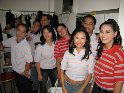 Saipan Singing Superstar Backstage