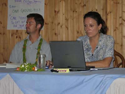 Kathy Yuknavage and Steve McKagan