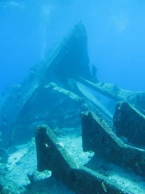 Saipan Shipwreck Dive