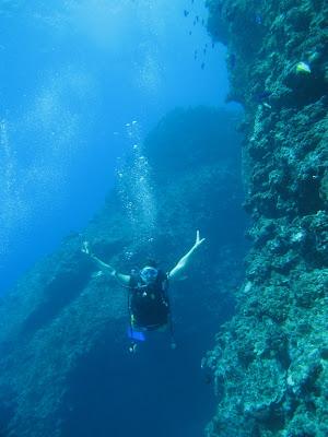 Saipan Grotto Diver