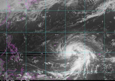 Typhoon Kong Rey