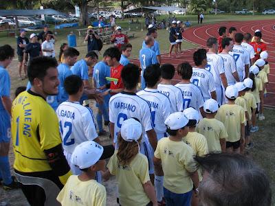 CNMI Soccer Team