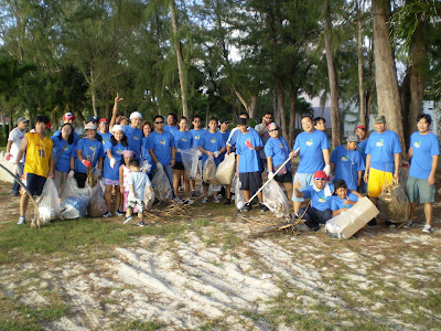 Shirley's Beautify CNMI Cleanup in March