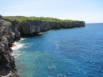 Laulau Bay Cliffline