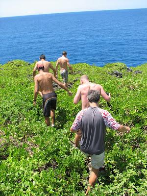 Laulau Bay Cliff