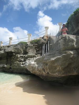 Taga Beach Stairs