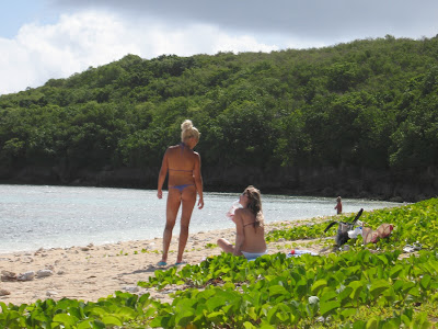 Russian Thong Bikini Strippers