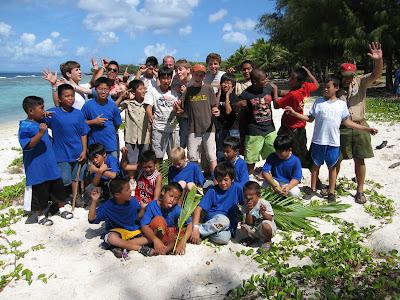 Saipan Boy Scouts