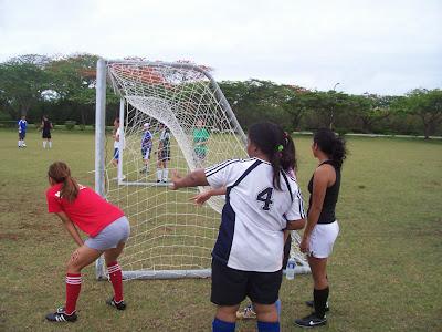 EJ Playing Soccer
