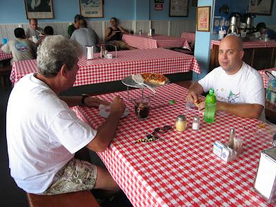 Bruce Bateman and Jeff Turbitt on a Pizza Date