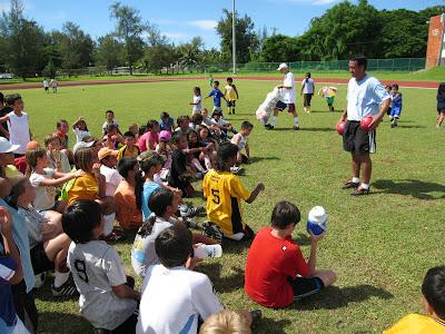 Jason Higgins CNMI Soccer Coach