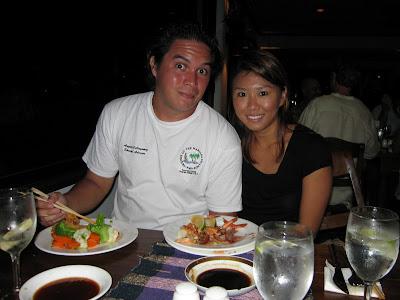 Shrimp Buffet Aqua Resort