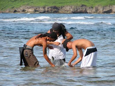 Talaya Fishing Laulau Bay Saipan