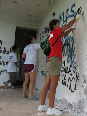 Paint Volunteers