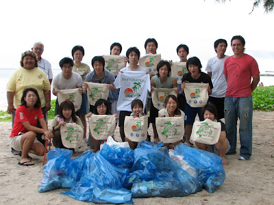 Beautify CNMI Cleanup with Nihon University