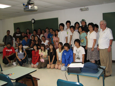 Northern Marianas College and Nihon University Students