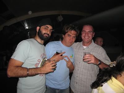 Raj Ian and Angelo