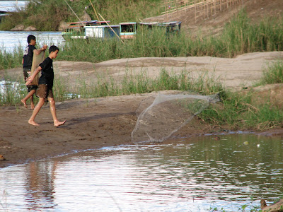 Talaya fishing Laos