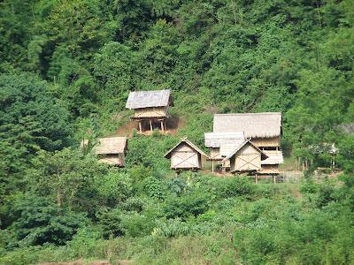 Mekong River Houses