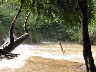 Laos Rope Swing