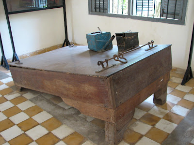 Tuol Sleng Waterboard
