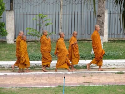 Buddhist Monks in Cambodia