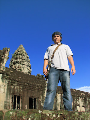 Angelo at Angkor Wat