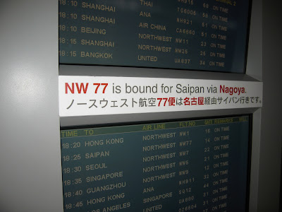 Going to Saipan