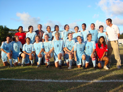 CNMI Womens National Soccer Team Beats Guam
