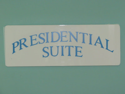 Presidential Suite Front Door