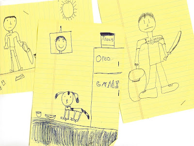 childrens drawing artwork
