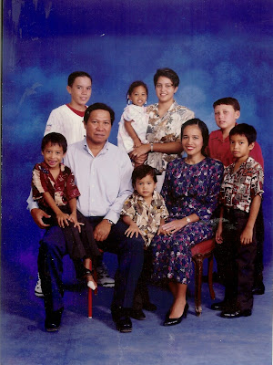 Justice Villagomez and Family
