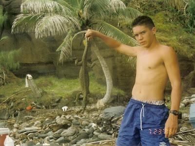 Angelo Villagomez on Anatahan