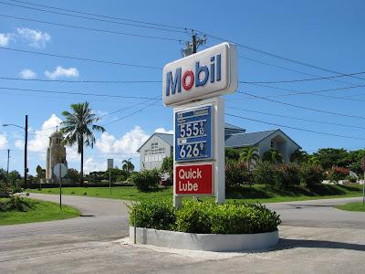 Tinian Gas prices