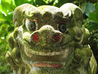 Shinto Shrine Lion on Tinian